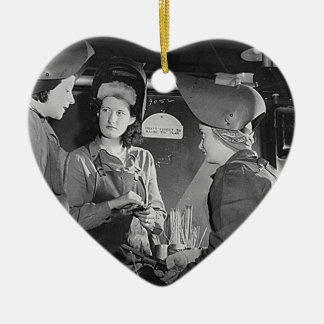 Women Welders Christmas Ornament
