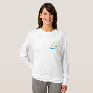 Women White Long Sleeve Ian Winter T-Shirt