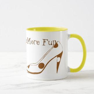 Women Who Love High Heel Shoes Mug