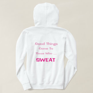 Women who sweat hoodie