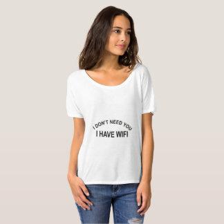 Women wifi shirt