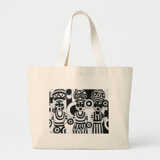 Women with Calabashes Beach Bag by Emeka!