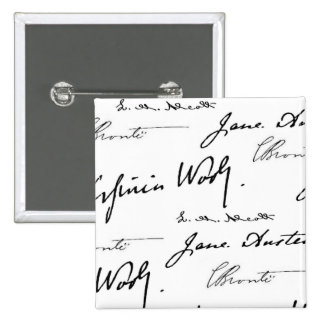 Women Writers 15 Cm Square Badge