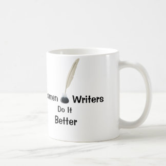 Women Writers Do It Better Basic White Mug