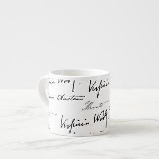 Women Writers Espresso Cup
