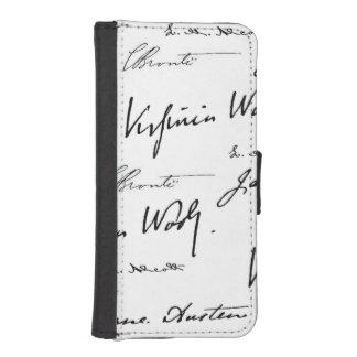 Women Writers iPhone SE/5/5s Wallet Case