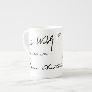 Women Writers Tea Cup
