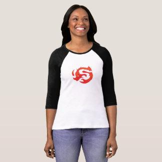 Women's 3/4 sleeve logo tee