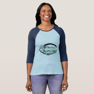Women's 3/4 Sleeve Raglan T-Shirt