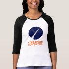 Womens 3/4 Sleeve With Copenhagen Suborbitals Logo T-Shirt