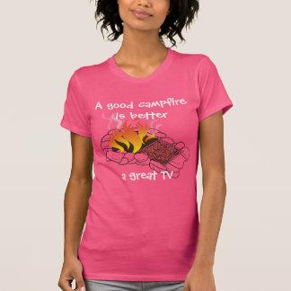 Women's A Good Campfire T-Shirt