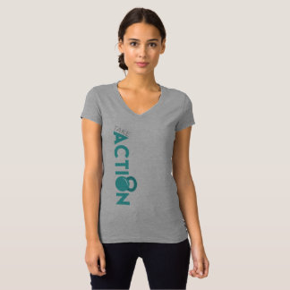 Women's Action Fitness Take Action T-Shirt - Front