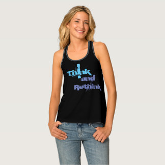 Women's All-Over Print Racerback Tank Top Bold and