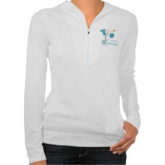 Women's Alo Half-Zip Performance Hoodie, W-EIF D&L Hooded Sweatshirt