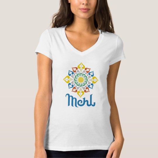 Women's Alternative Apparel White V-Neck T T-Shirt