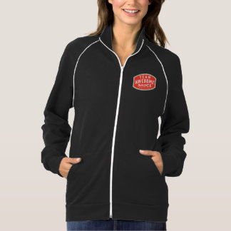 Women's Amer Apparel California Fleece Track Jacke Jacket