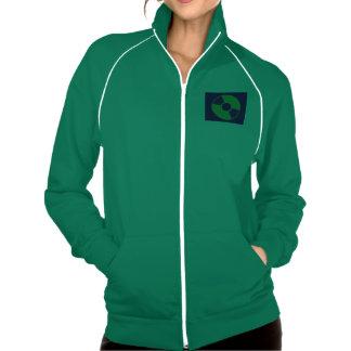 Women's American Apparel California Fleece DJ Insp Printed Jacket