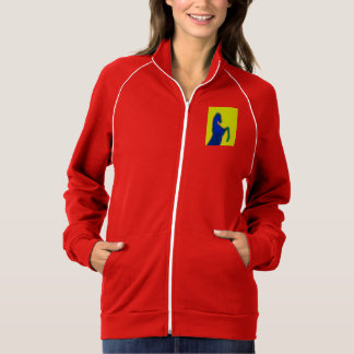 Women's American Apparel California Fleece Track J Jacket