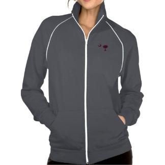 Women's American Apparel California Fleece Track J Printed Jackets