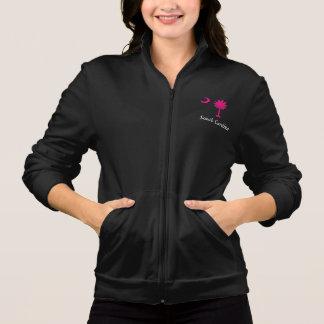 Women's American Apparel California Fleece Zip Jog Printed Jackets