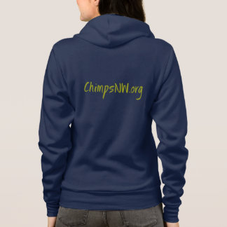 Women's American Apparel ChimpsNW Zip Hoodie