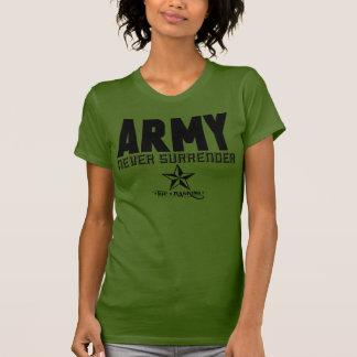 Women's American Apparel Fine Army T-Shirt