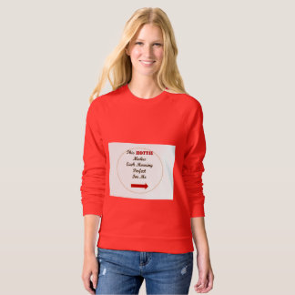 Women's apparel sweatshirt