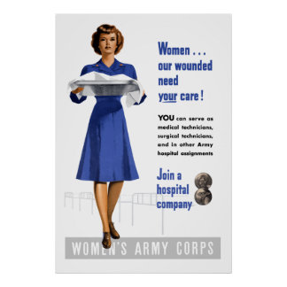 Women's Army Corps Poster