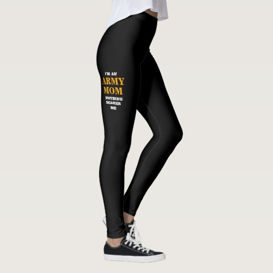 "WOMEN'S ""ARMY MOM"" SPANDEX LEGGINGS"