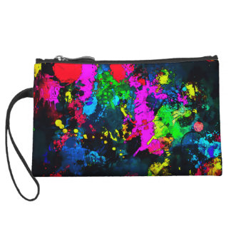 Women's Art Form Grunge Artist Mini Purse