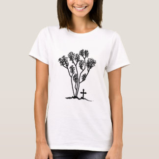 Women's Baby Doll Shirt - Black & White Logo