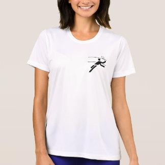 Women's Badminton Micro Fibre Shirt