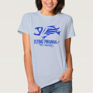 Women's Basic Flying Piranha Shirts
