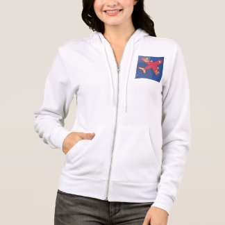 Women's Basic Hooded Sweatshirt aeroplane aircraft