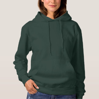 Women's Basic Hooded Sweatshirt DEEP FOREST