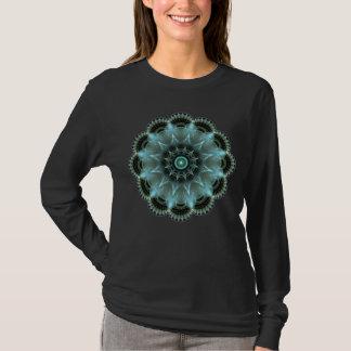 Women's Basic Long Sleeve Sacred Geometry T-Shirt