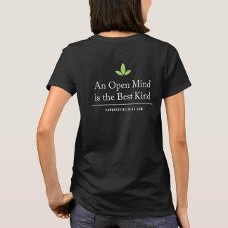 Women's Basic Open Mind Back Tee