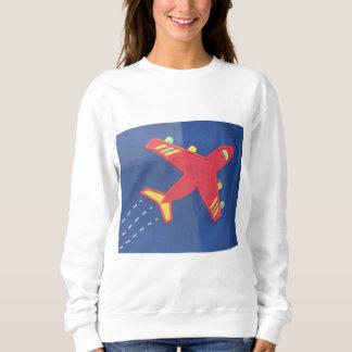 Women's Basic Sweatshirt Brave aeroplane aircraft