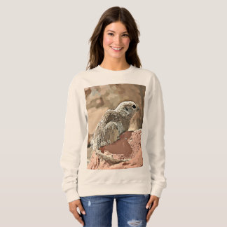 "Women's Basic Sweatshirt ""Ground Squirrel"""