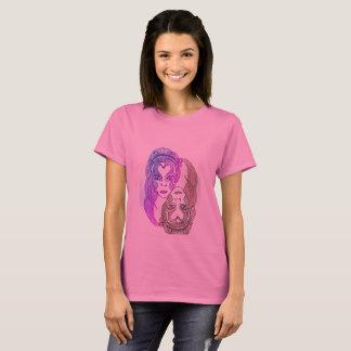 womens basic t-shirt 3xl pink