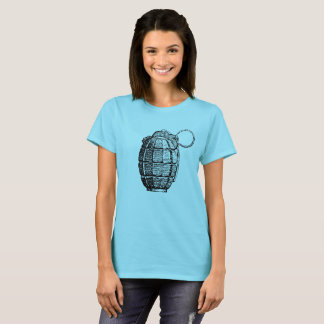 Women's Basic T-Shirt Hand Grenade