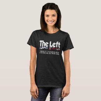 Women's Basic T-Shirt - The Left, Defined (Bold)
