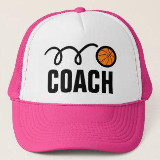 Women's basketball coach hat / cap