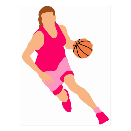 Women's basketball Logo Postcard