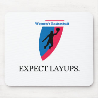 Women's Basketball Mouse Pad