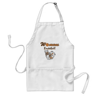 Women's Basketball Shoes T-shirts and Gifts Standard Apron