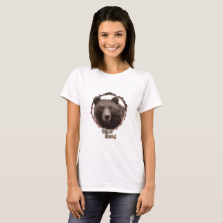 Womens bear t-shirt. T-Shirt