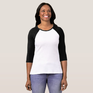 Women's Bella 3/4 Sleeve Raglan T-Shirt