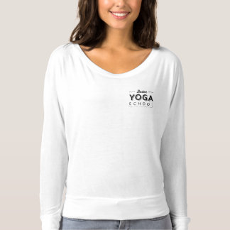 Womens Bella+Canvas Flowy Long Sleeve T-Shirt