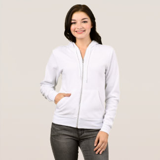 Women's Bella+Canvas Full-Zip Hoodie
